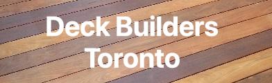 Deck Builders Toronto